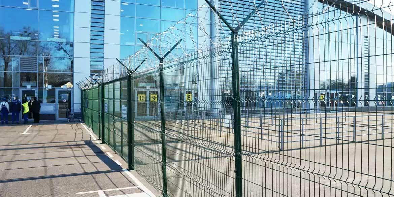 Забор ограждения аэропорта Борисполь