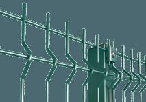 Забор из секций классик