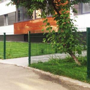 Забор металлический высотой 1метр