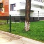 Металлический секционный забор 1м