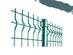 "Забор из секций «МЕДИУМ» h-1680мм L-3000 d-4/4мм - Фото № ""1"""