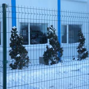 "Забор из секций «МЕДИУМ» h-1680мм L-3000 d-4/4мм - Фото № ""4"""