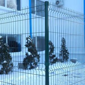 "Забор из секций «МЕДИУМ» h-1680мм L-3000 d-4/4мм - Фото № ""3"""