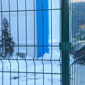 "Забор из секций «МЕДИУМ» h-1680мм L-3000 d-4/4мм - Фото № ""2"""