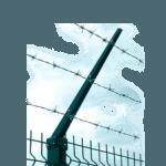 Заградительный барьер для забора