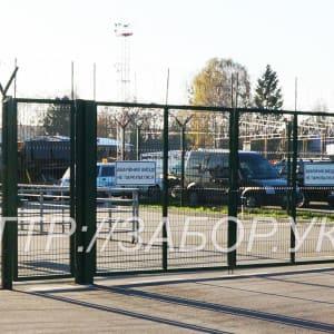"""Распашные ворота Классик 2030мм Х 3000мм - Фото № """"8"""""""