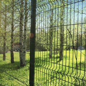 "Забор секционный «Классик» h-2400мм d-5, l-3000мм - Фото № ""3"""