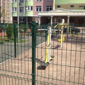 забор для площадки