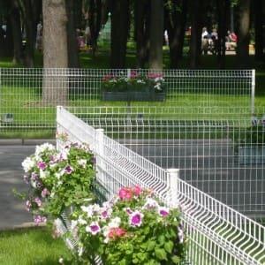 """Забор секционный «Классик» h-530мм d-5 - Фото № """"5"""""""