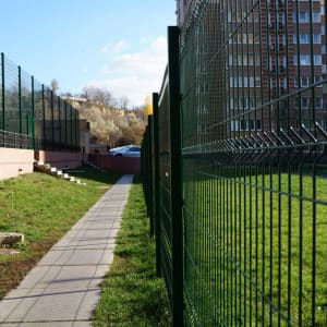 "Забор секционный «Классик» h-2400мм d-4, l-3000мм - Фото № ""11"""