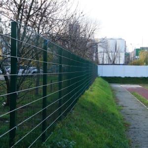 "Забор секционный «Пром» h-1630мм d 4/5 - Фото № ""6"""