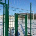 Забор из панелей ТЕХНА ПРОМ