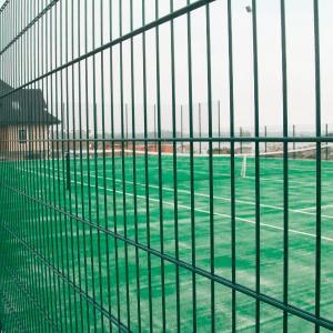 Мощный металлический забор из секций ПРОМ