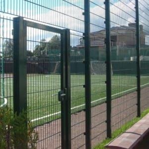 Забор для ограждения спорт площадки