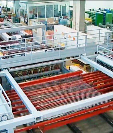 Производство секционных панелей