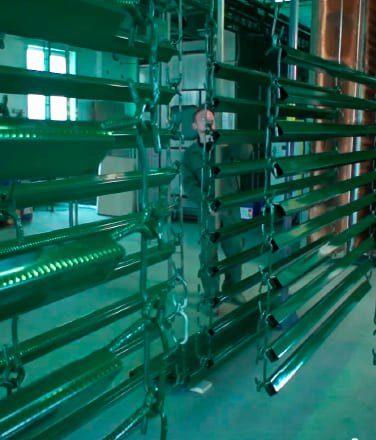 Полимеризация продукции ТЕХНА