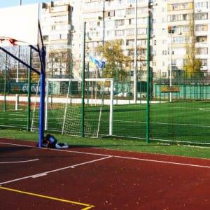 """Ограждение спортивной площадки H-3м d 5 - Фото № """"5"""""""