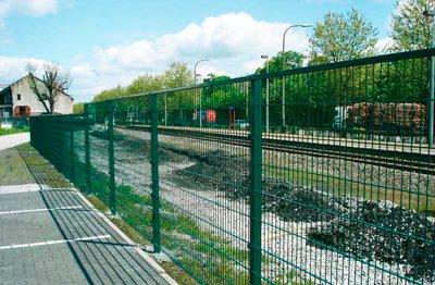 Забор для железной дороги