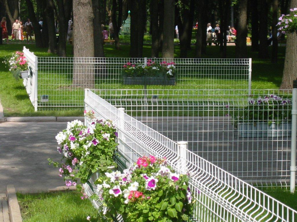Забор для ограждения пешеходных зон