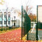 Ограждение школы забором