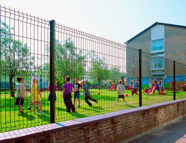 Забор для школьной территории