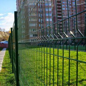 """Забор секционный «Классик» h-2400мм d-5 - Фото № """"1"""""""