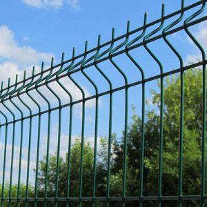 """Забор из секций «МЕДИУМ» l-2500мм h-1000мм d-4/4мм - Фото № """"1"""""""