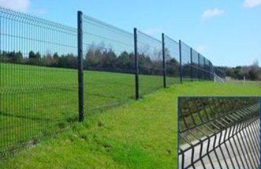 Зварні паркани