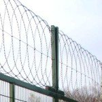 Плоский барьер безопасности