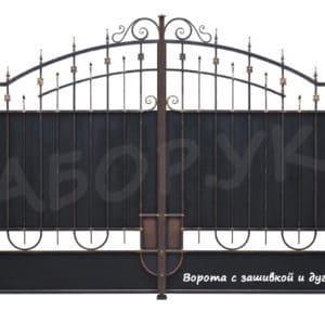 """Кованые ворота - Фото № """"3"""""""