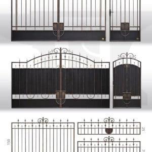 """Кованые ворота - Фото № """"5"""""""