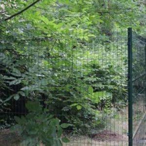 """Забор из секций «МЕДИУМ» l-2500мм h-2030мм d-4/4мм - Фото № """"8"""""""