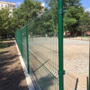 """Забор из секций «МЕДИУМ» l-2500мм h-2030мм d-4/4мм - Фото № """"7"""""""