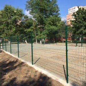 """Забор из секций «МЕДИУМ» l-2500мм h-2030мм d-4/4мм - Фото № """"6"""""""