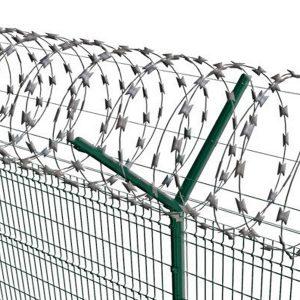"""Спиральный барьер безопасности «Егоза», d-600mm, 5 скоб соединения - Фото № """"1"""""""