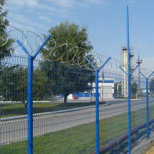 """Спиральный барьер безопасности «Егоза», d-500mm, 5 скоб соединения - Фото № """"1"""""""