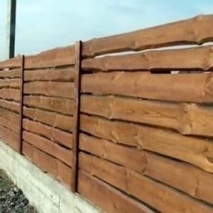"""Деревянный забор Щит - Фото № """"2"""""""