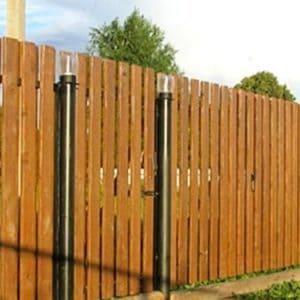 """Ворота деревянные - Фото № """"3"""""""