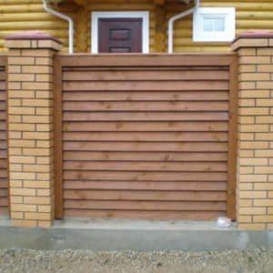 """Деревянный забор Лесенка - Фото № """"3"""""""
