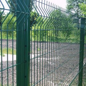 Секционный забор из сварной сетки medium-classic
