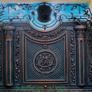 """Кованые ворота откатные №35 - Фото № """"1"""""""
