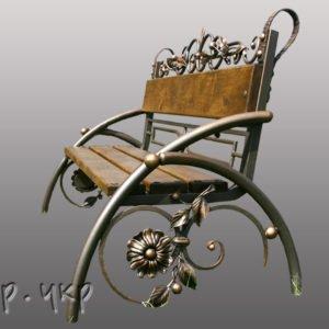 """Кованая скамейка №5 - Фото № """"1"""""""