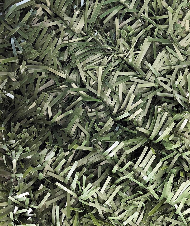 искуственная трава забор DO dark olive