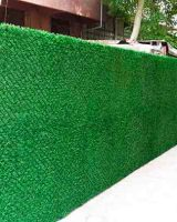 Зеленый забор из ПВХ