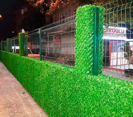 Зеленый забор