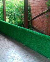 ограждение, забор из травы