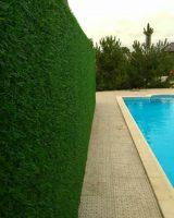 зеленый забор - трава искусственная