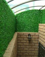 зеленое ограждение ПВХ